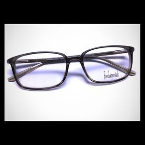 Accessories - Unisex (Either Gender) Plastic Frame in Black Fade